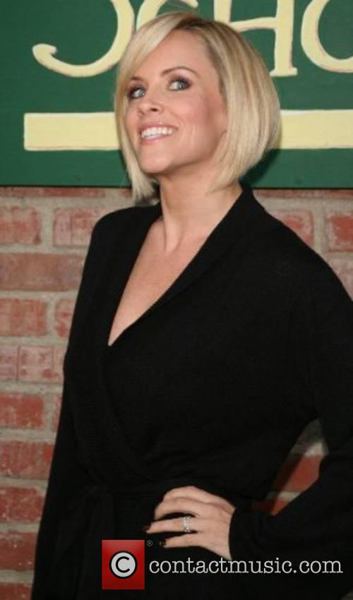 Jenny McCarthy at her book signing, 'Life Laughs'...