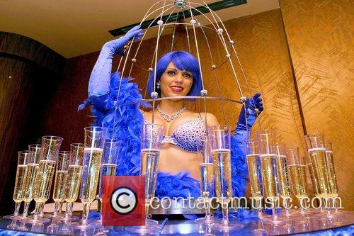 Sapphire hostess Five-year opening celebration of Sapphire, the...