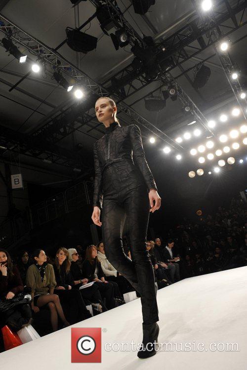 Model and London Fashion Week 6