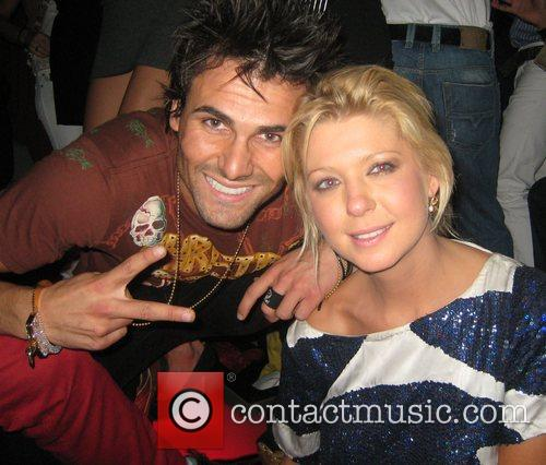 Jeremy Jackson and Tara Reid at the Christian...
