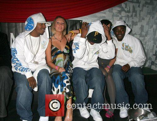 Sisqo, Lauren Selby and guests at the Christian...