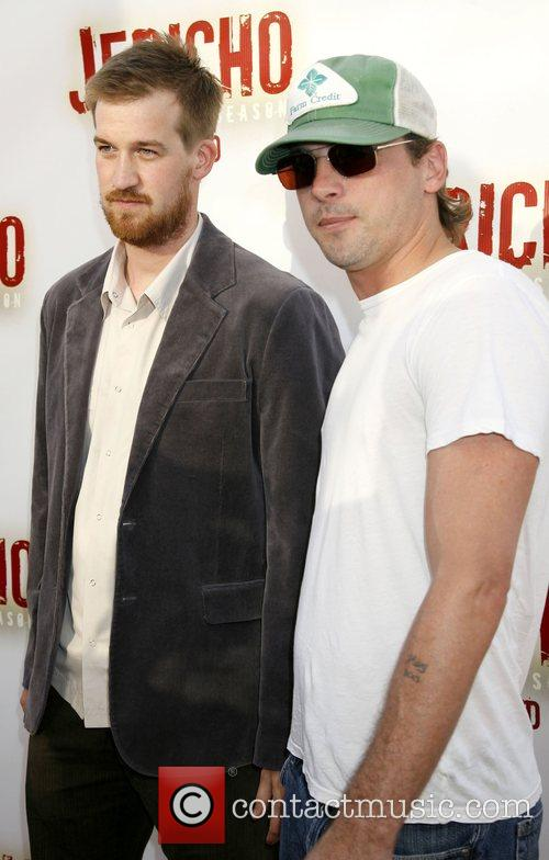 Skeet Ulrich and Kenneth Mitchell
