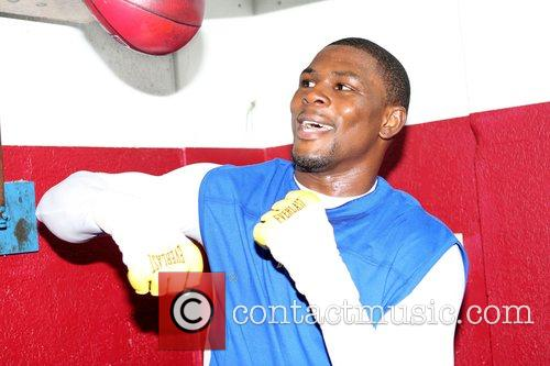 Jermain Taylor trains at Tocco's gym. The former...