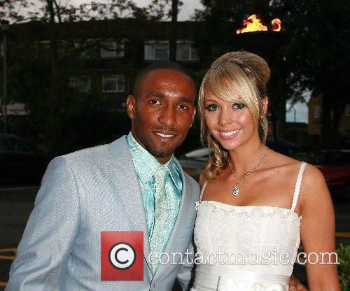 Jermaine Defoe and Charlotte Mears Engagement party for...