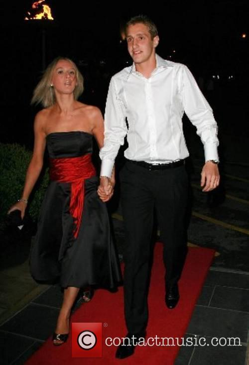 Michael Dawson and guest Engagement party for Jermaine...