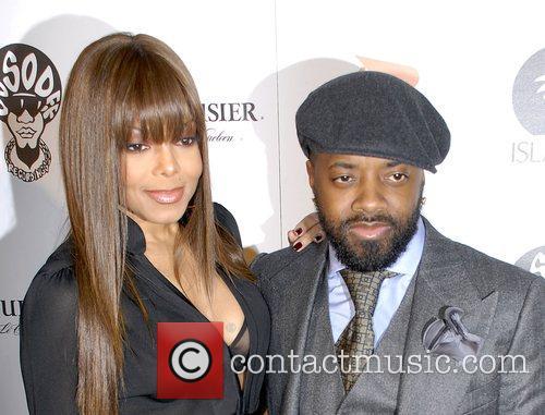 Jermaine Dupri and Janet Jackson At the Jermaine...