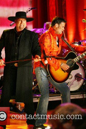 Montgomery Gentry performing The Jerry Lewis MDA Telethon...