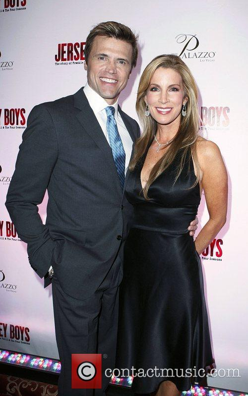 Brent Barrett and Alicia Jacobs Opening Night of...