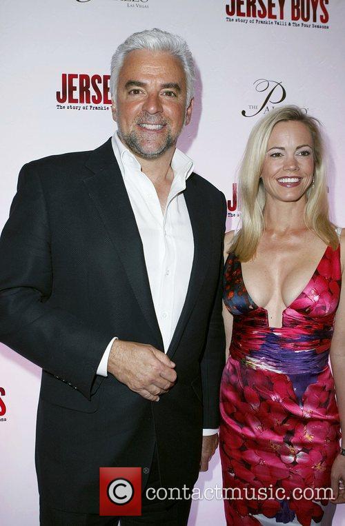 John O'Hurley and Lisa O'Hurley Opening Night of...