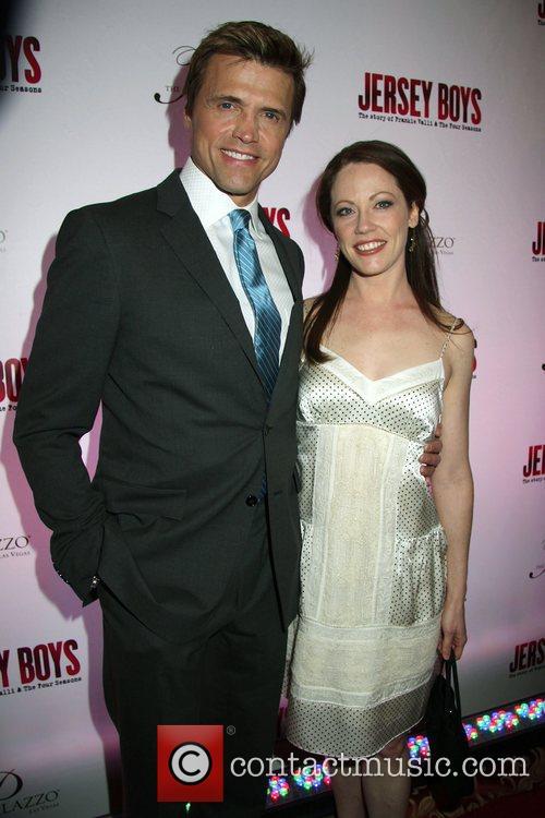 Brent Barrett, Kristi Holden Opening Night of 'Jersey...