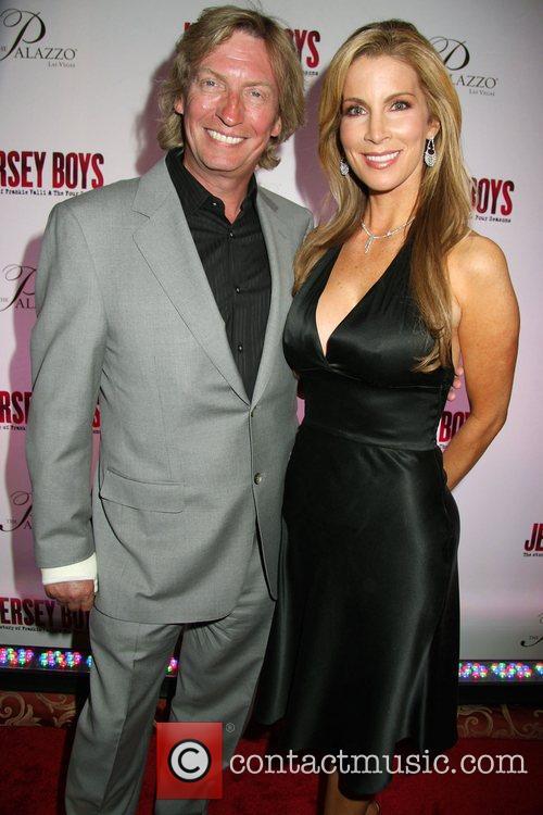 Nigel Lythgoe, Alicia Jacobs Opening Night of 'Jersey...