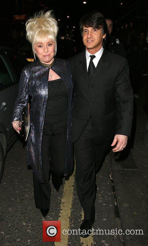 Barbara Windsor leaves the opening night of the...
