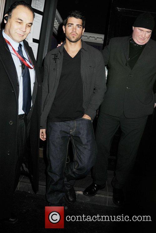 Jesse Metcalfe at Movida club London, England