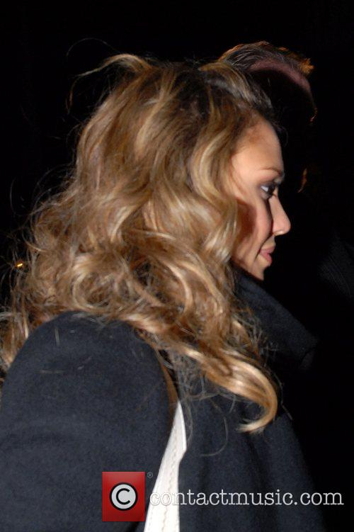 Jessica Alba out in Gramercy Park New York...