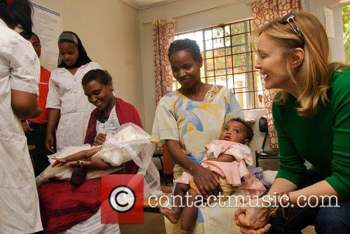 Visits Mothers and babies at the Awassa Health...