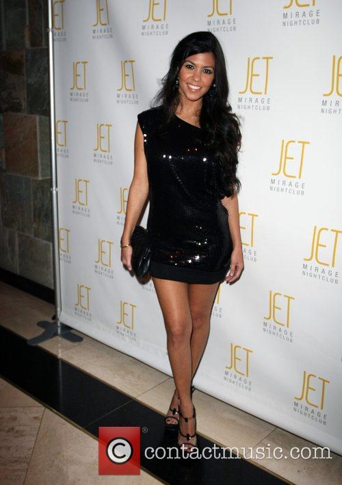 Kourtney Kardashian, Las Vegas, Jet nightclub