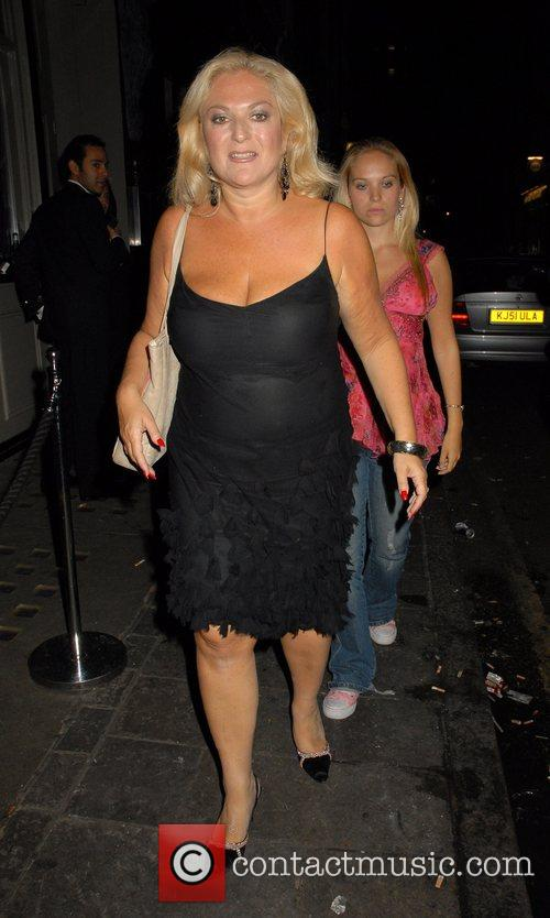 Vanessa Feltz OK Magazine burlesque party at Jewel...