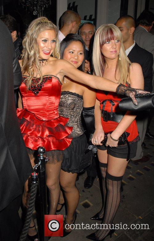 Nikki Grahame, Lisa Huo and guest OK Magazine...