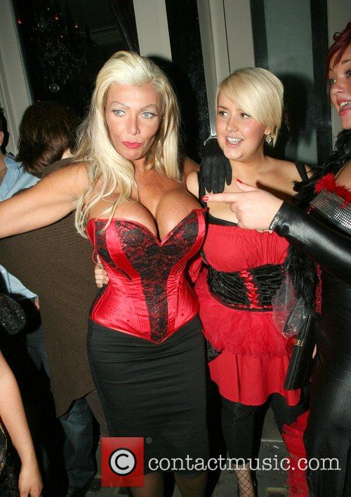 Lea Walker and Guest OK Magazine burlesque party...