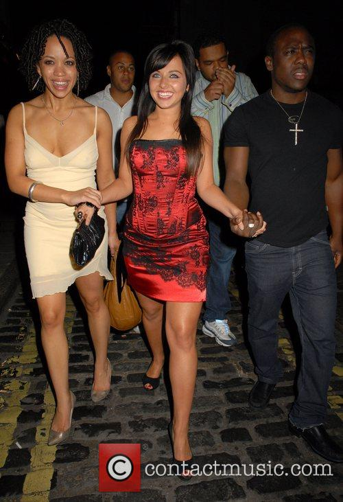 Louisa Lytton, Mohammed George and guest OK Magazine...
