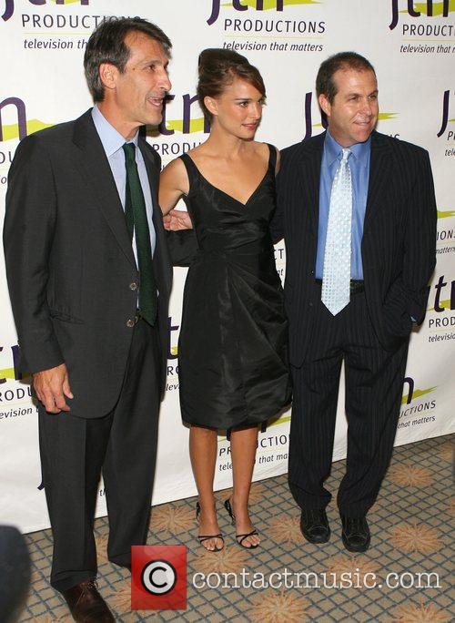 Michael Lynton, Natalie Portman and guest Jewish Televison...