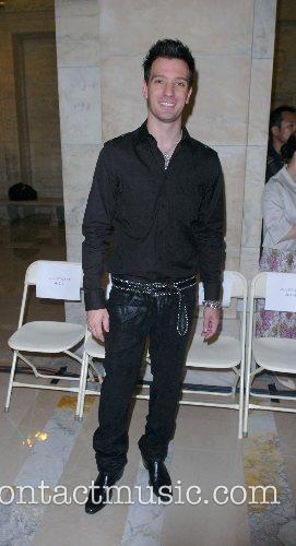 JC Chasez Mercedes-Benz Fashion Week New York Spring...