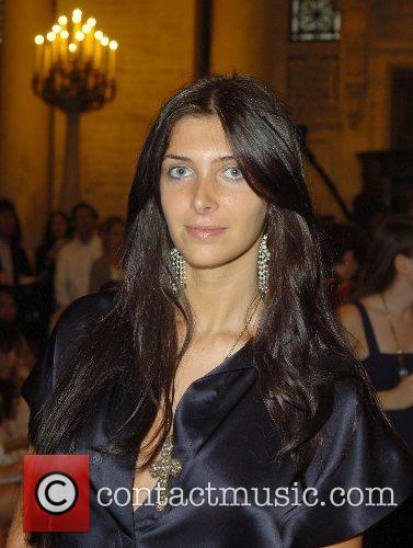 Brittny Gastineau Mercedes-Benz Fashion Week New York Spring...
