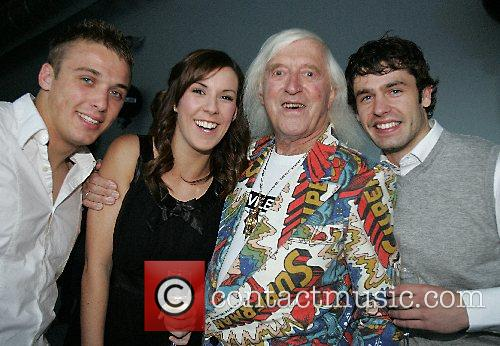 Sir Jimmy Savile launches Savile's Hall at the...