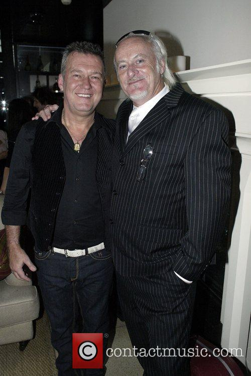 Jimmy Barnes and Billy Birmingham The launch of...