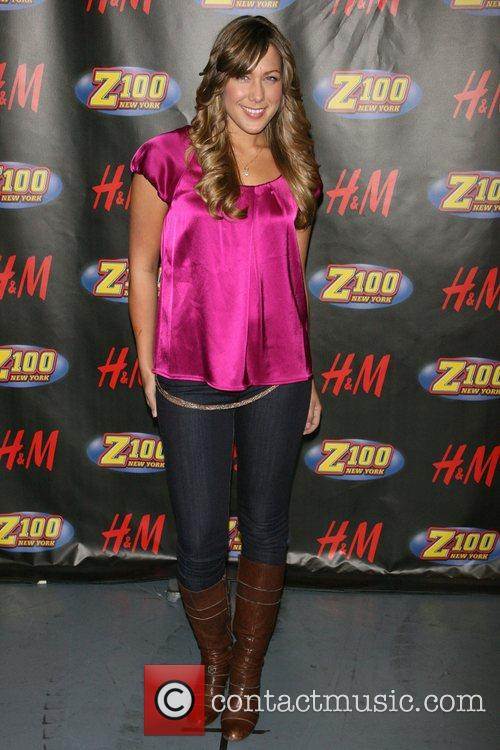 Colbie Caillat Z100's Jingle Ball 2007 at Madison...