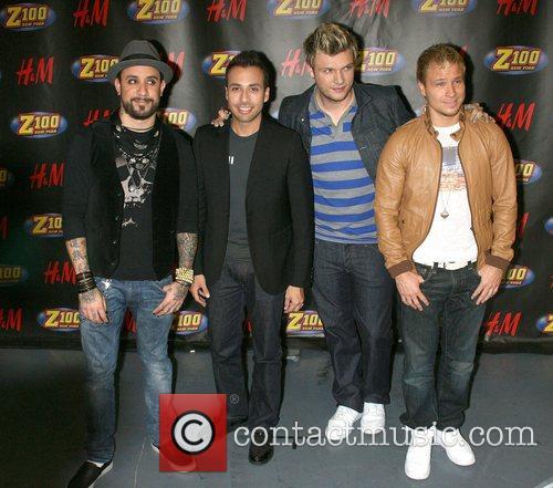 Backtsreet Boys (AJ McLean, Howie Dorough, Nick Carter,...