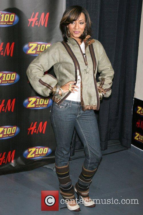 Keri Hilson Z100's Jingle Ball 2007 at Madison...