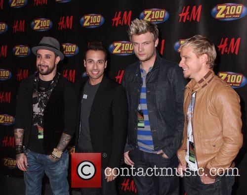 Backstreet Boys Z100's Jingle Ball 2007 at Madison...
