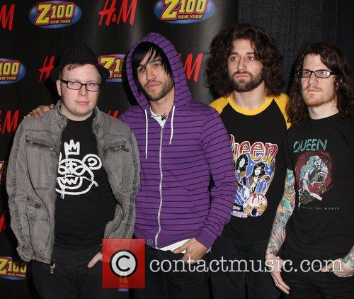 Fall Out Boy Z100's Jingle Ball 2007 at...