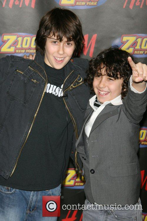 The Naked Brothers Band Z100's Jingle Ball 2007...