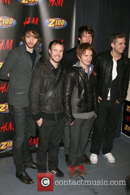 OneRepublic Z100's Jingle Ball 2007 at Madison Square...