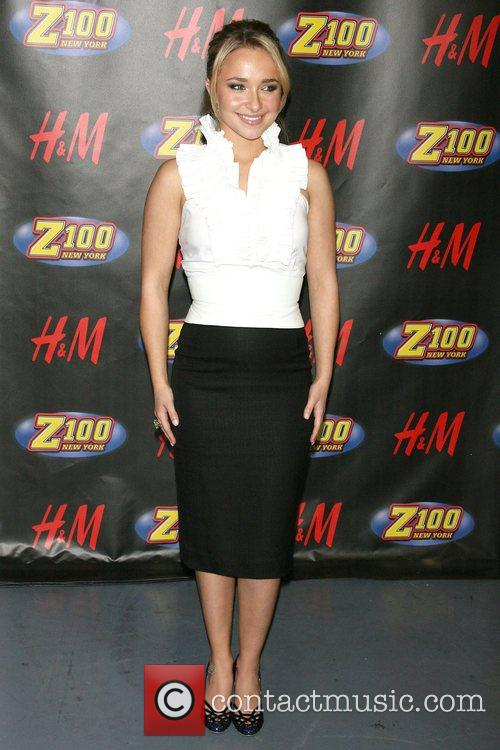 Hayden Panettiere Z100's Jingle Ball 2007 at Madison...