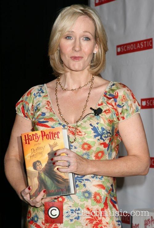 J.K. Rowling at the US Book Tour launch...