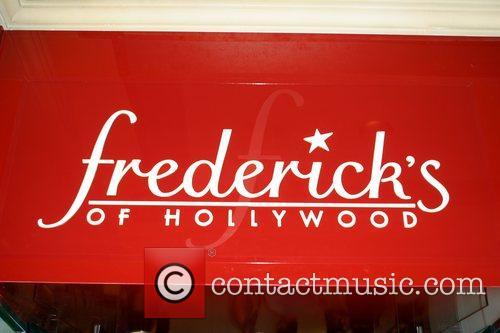 International Model Joanna Krupa attends 'Frederick's of Hollywood'...