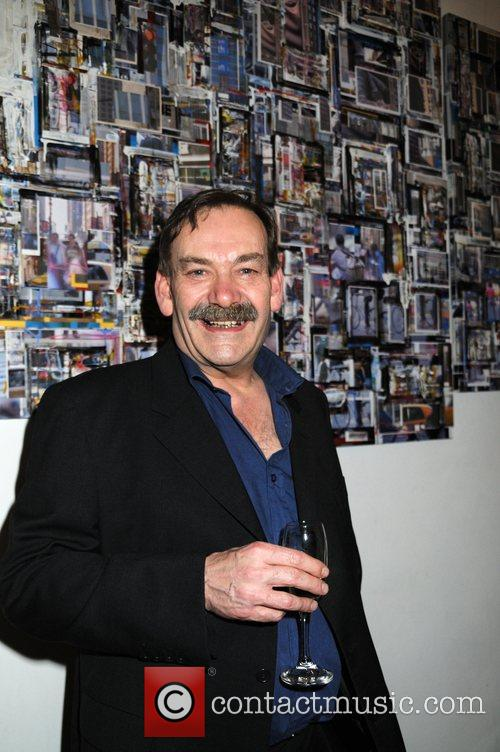 John Bloxam at his gallery