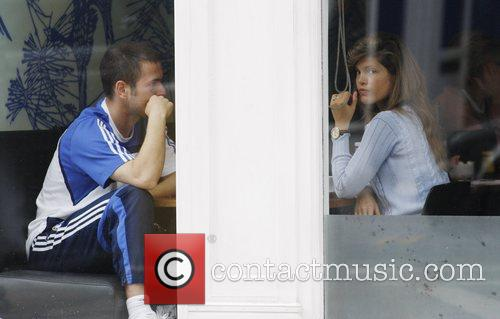 Joe Cole and Carly Zucker have lunch at...