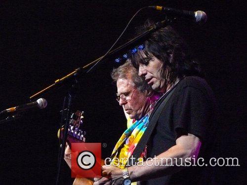 Country Joe McDonald and Ricky Scarlett  performing...