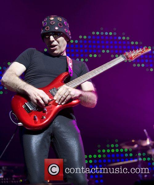 Joe Satriani  performing at Symphony Hall for...