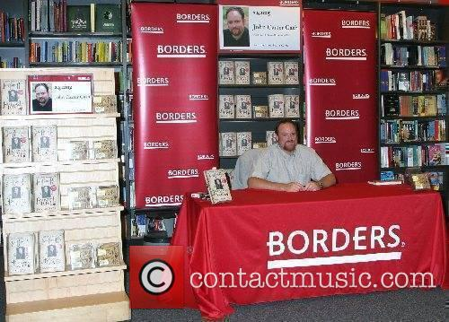 Book and cd signing at Borders for his...