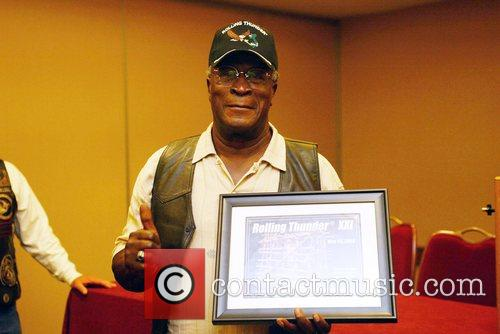 Actor John Amos joins the Vietnam Veterans Rolling...