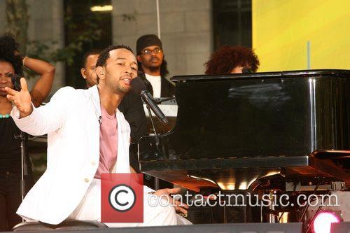 John Legend, ABC, Bryant Park