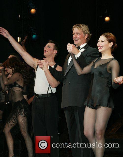 R. Lowe, John Schneider and Bianca Marroquin performance...
