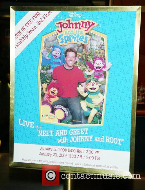 In-store appearance with Johnny and Root from the...