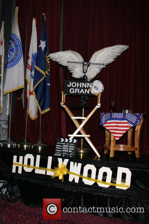 Johnny Grant Memorial at The Pantages Theater