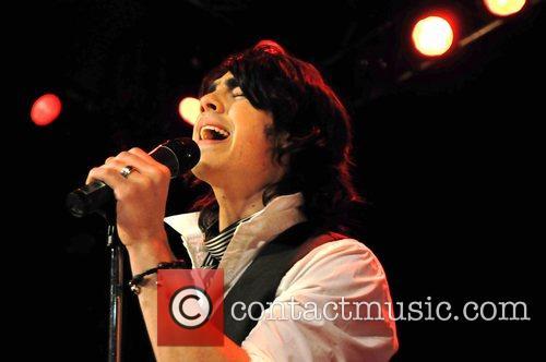 Nick Jonas Jonas Brothers perform a one-off UK...